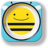 Skip Hop Zoo Melamine Bowl-Bee (Yellow And Blue)