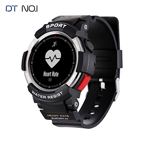IP68 Waterproof Running GPS Watch QIMAOO Heart Rate Monitor Sports Watch Mens Bluetooth Smartwatch Fitness Activity Tracker With Pedometer Step Counter Sleep Monitor Call Message Notification Smart Wr