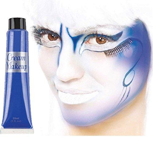 Amscan Blau Creme Make-up Gesichtsbemalung Rohr