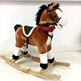 Kids Rocking Horse with Moving Mouth & Sounds