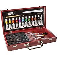 Royal and Langnickel Watercolour Wooden Box Set