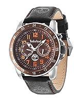 Timberland 14109JSTBN/12 - Reloj , correa de cuero color negro de Timberland