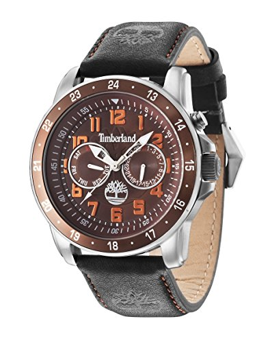 Timberland Herren-Armbanduhr BELLAMY Chronograph Quarz 14109JSTBN/12