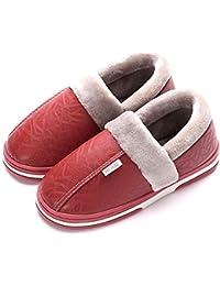 Mujer Invierno Zapatillas de Estar casa Cerradas Calienta Pantuflas Termicas Zapatos Slippers