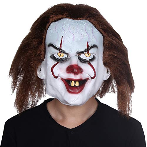 Clown-Maske geeignet für Maskerade Parteien, Kostüm-Partys, Karneval, Weihnachten, Ostern, Halloween, Bühnenauftritte, Handwerk Dekorationen (Parteien Halloween-spiele, Die Gruselige)