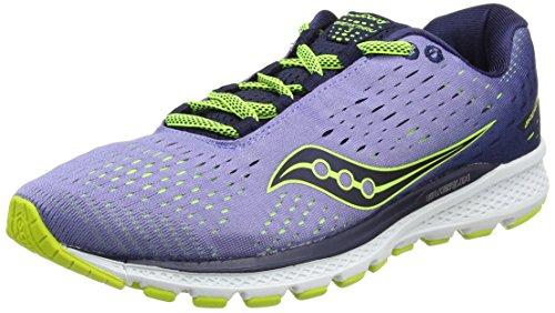 Saucony Breakthru 3, Zapatillas de Running para Mujer, Morado (Purple/Navy), 41 EU