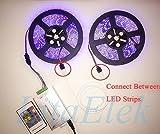 LitaElek 2.5m 250cm RGB LED Verlängerungskabel LED Streifen Verbinder Verlängerung Anschluss Verteiler Kabel für 4 polig RGB 5050 3528 2835 LED Streifen Licht, für 4 polig LED TV Hintergrundbeleuchtung SET, und für 4 polig OSRAM flexible RGB LED-Streifen -