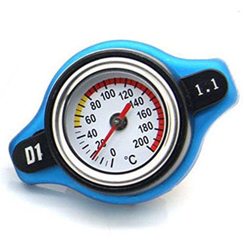 Hemore - Tapón para radiador de Coche DE 0,9 Bar 1,1 Bar...