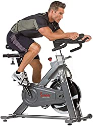 Sunny Health & Fitness Unisex Adult SF-B1516 Commercial Indoor Cycling Bike - Grey, One