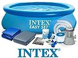 Set 8in1 Quick up Pool Intex 28112 Ø 244 x