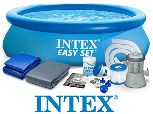 Set 8in1 Quick up Pool Intex 28112 Ø 244 x 76 cm