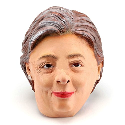 Clinton Senator Gesichtsmaske Kostüm Cosplay Halloween-Party (Clinton Kostüm Party)