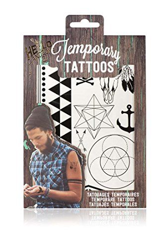 NPW Stick auf Tattoos Kit - temporäre Tattoos von Hello Handsome