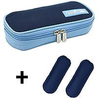 DCCN Insulin Kühltasche Diabetiker Tasche für Medikamente Thermotasche aus Oxford-Stoff und Alufolien mit Kühlakkus