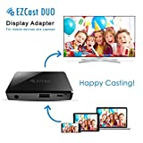 EZCAST 2 in 1 USB to HDMI und VGA Adapter, 1080P Dual Display Adapter Screen Mirroring für iPhone/iPad/Android/Windows 7/8/8.1/10/mac OS, HDMI VGA Dual Output