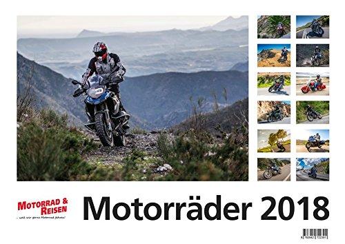 Foto-Wandkalender Motorräder 2018 - DIN A3 quer: Motorrad-Kalender 2018 (Bmw M Kalender)