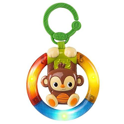 Bright Starts Shake &Glow Monkey Car Seat and Stroller