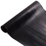Gummiläufer | Meterware in vielen Größen | Gummimatten mit rutschhemmender Oberflächenstruktur | Tränenblech-Struktur 150x200 cm | Stärke: 3 mm