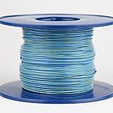 Kabel 0,5 qmm blau/gelb 1m