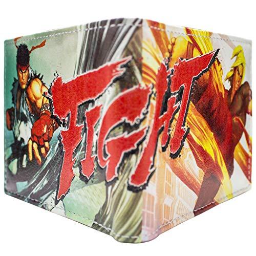 Capcom Street Fighter 5 Ken Ryu Weiß Portemonnaie Geldbörse