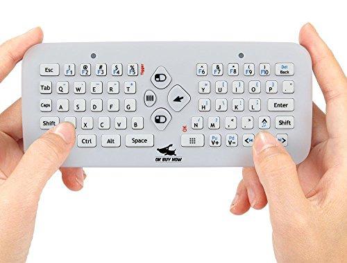 Maus USB 2,4 GHz Drahtlos Luft fliegende Maus und Drahtlos Präsentation Moderator mit Laserpointer für PC Andriod Fernsehkasten Google TV Box Xbox360 PS3 & HTPC / IPTV (Halloween-office, Etc)