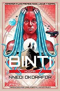 Binti: Hogar par Nnedi Okorafor