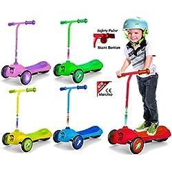 MONOPATTINO 3 ruote bambini monopattino ELETTRICO bambini MARCHIO CE