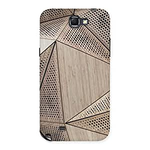 Doted Triangel Print Back Case Cover for Galaxy Note 2