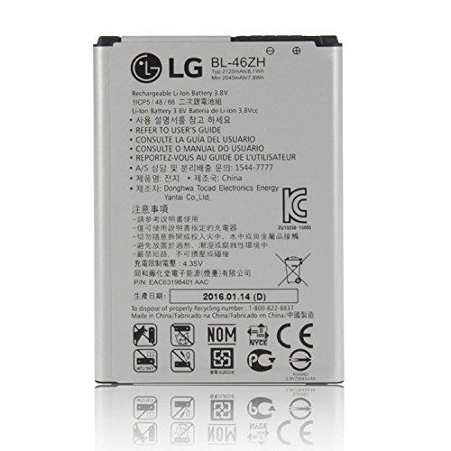 Akku Original LG bl-46zh für K7X120, K8K350N-2125mAh Li-Ion Bulk (N Akku Bulk)