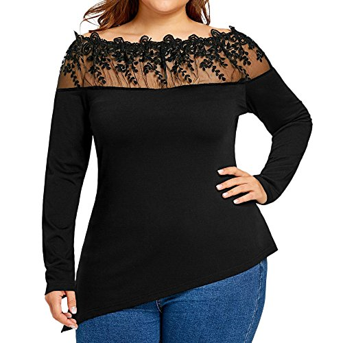 Camisetas Mujer Tallas Grandes,Camiseta de Mujer de Gran tamaño...