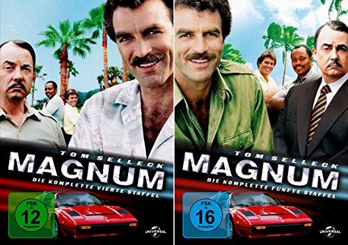 Magnum - Die komplette 4. + 5. Staffel (12-Disc | 2-Boxen) -