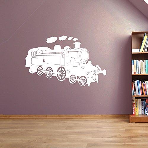 Motore a vapore Treno Decorazioni a parete finestra adesivi da parete adesivi da parete Wall (Treno Decorazione Della Parete Di)