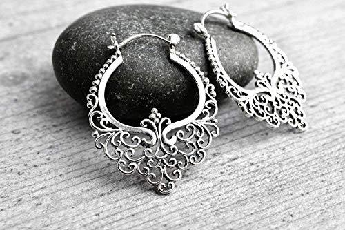 925er Silber Ohrringe KARMA II | Exklusive Schmuckschachtel | Tolle Geschenkidee
