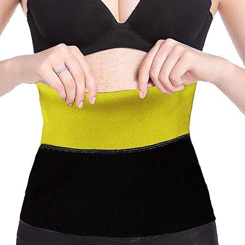 DODOING Unisex Neopren Gürtel Bauchweggürtel Abnehmen Schwitzgürtel Rückenbandage Schlankgürtel Latex Taillen-shaper