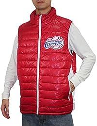 NBA Los Angeles Clippers Mens Pro Qualität Zip-Up Winddichte Weste / Jacke
