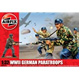 Airfix A02712 WWII German Paratroopers 1:32 Scale Series 2 Plastic Figures