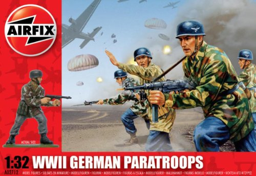 Airfix A02712 - Paracadutisti tedeschi