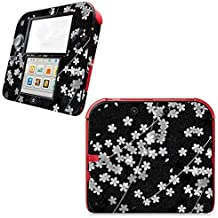 Linyuan Calidad Estable Pattern Cover Case Skin Sticker Decals 0092# para Nintend 2DS