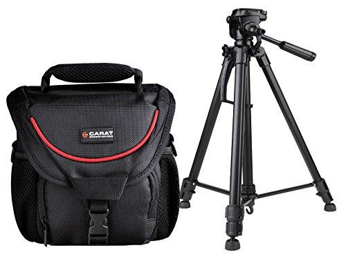 Foto Kamera Tasche TOUGH MEDIUM SNIPER im Set mit Foto und Video Stativ inkl. Stativ Tasche