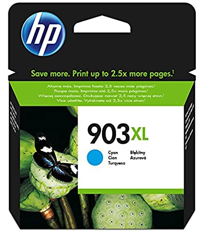 HP T6M03AE 903XL High Yield Cyan Original Ink Cartridge