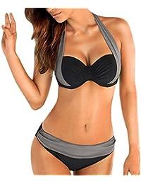 b61686d5ad522 Amazon.co.uk  Grey - Bikinis   Swimwear  Clothing