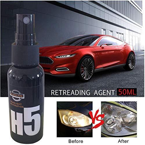 fllyingu Auto Keramik Beschichtungs Kit,H5 Autolack Car Kit Anti Scratch Auto Flüssige Nano Keramikbeschichtung Lackversiegelung Schutz