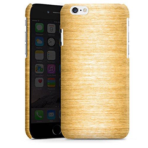Apple iPhone 4 Housse Étui Silicone Coque Protection Look métal Or Métal Cas Premium brillant