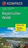 Bayerischer Wald 1 : 50 000: Wandern - Rad. 3 Karten im Set + Naturführer Wiesenblumen. GPS-genau