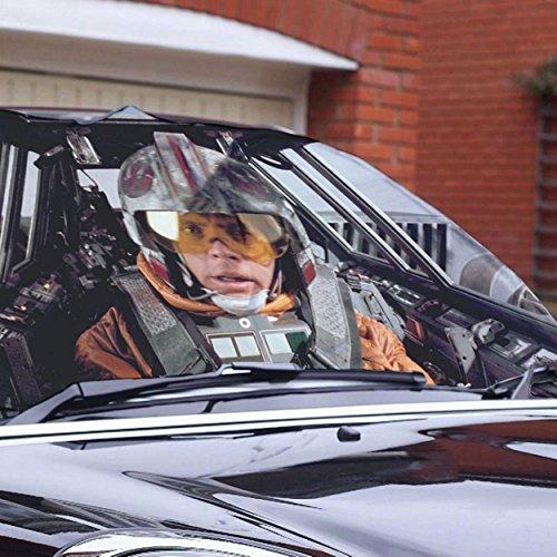 Preisvergleich Produktbild Star Wars Luke Skywalker Auto Frost Shield