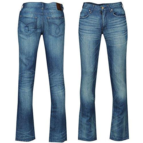 Calvin Klein Linen Denim Jeans Homme (modèle d'été)