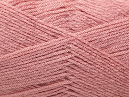 82 Mm Rose (Stylecraft Spezielle 4 Ply, Pale Rose (1080))