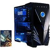 VIBOX Barracuda - Ordenador para gaming (Intel i5-4690K, 8 GB de RAM, 1 TB de disco duro, Nvidia Geforce GTX 960) color neón azul