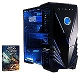 Vibox Barracuda Unité centrale Gaming Néon Bleu (Intel Core i5, 8 Go de RAM, 120 Go, Nvidia GeForce GTX 960 )