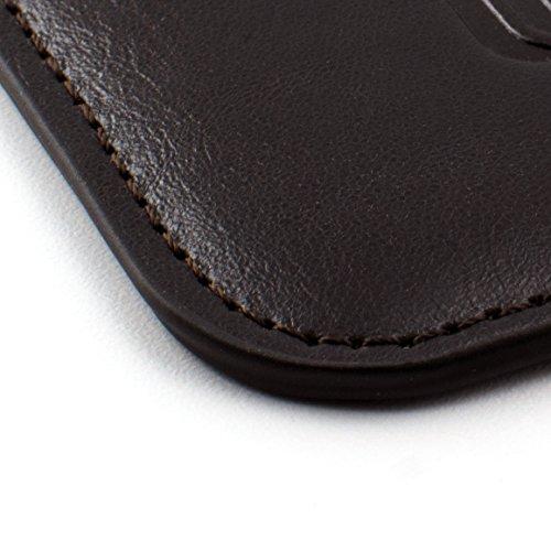 En cuir synthétique iPhone 6et 6Plus manches–rembourré, Cuir synthétique, marron foncé, iPhone 6 Plus marron foncé